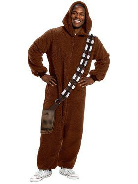 Star Wars Classic Chewbacca Adult Jumpsuit Adult Costume