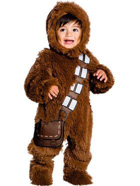 Star Wars Classic Chewbacca Deluxe Plush Child Costume