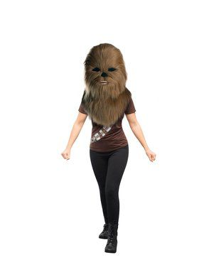 Star Wars Classic Chewbacca Plush Oversized Mask