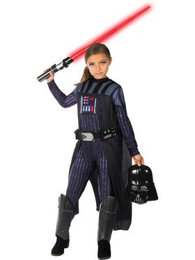 Star Wars Classic Girls Darth Vader Costume