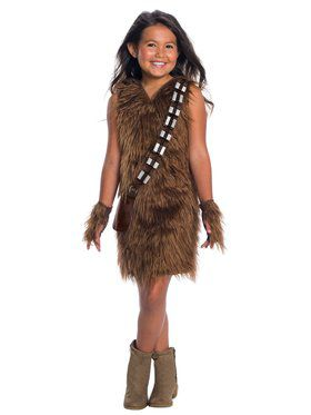 Star Wars Classic Deluxe Chewbacca Dress Girls
