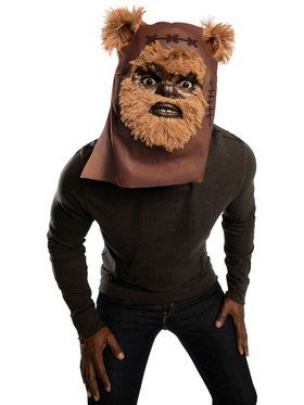 Star Wars Classic Ewok Furry Mask