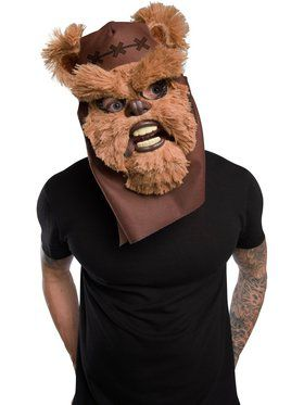 Star Wars Classic Ewok Movable Jaw Mask