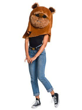 Star Wars Classic Ewok Plush Oversized Mask