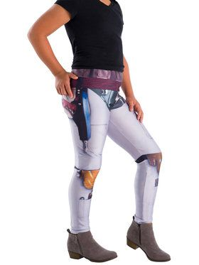 Girls Boba Fett Star Wars Classic Leggings