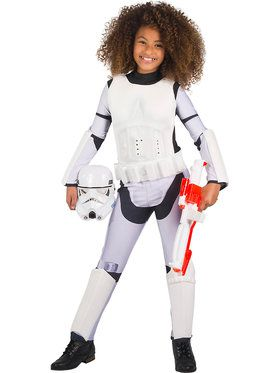 Star Wars Girls Classic Stormtrooper Costume