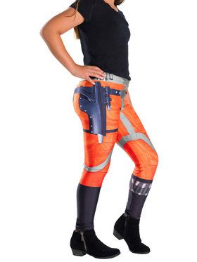 Girls X-Wing Fighter Pilot Star Wars Classic Leggings