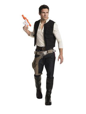 Star Wars Mens Han Solo Costume
