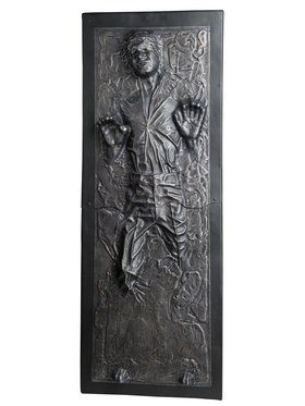 Star Wars Classic Han Solo In Carbonite Statue