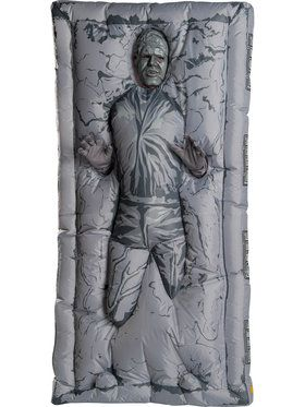 Mens Star Wars Classic Inflatable Han Solo In Carbonite Costume