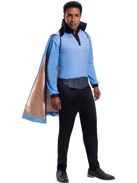 Star Wars Classic Mens Lando Calrissian Costume