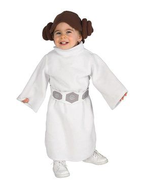 Star Wars Classic Princess Leia Infant Toddler Child Costume
