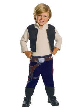 Star Wars Classic Han Solo Costume For Toddlers