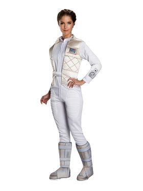 Star Wars Classic Womens Princess Leia Hoth Costume