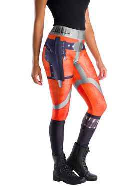 Star Wars Classic Womens X-Wing Fighter Pilot Leggings