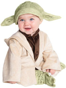Deluxe Infant Plush Classic Yoda Star Wars Costume