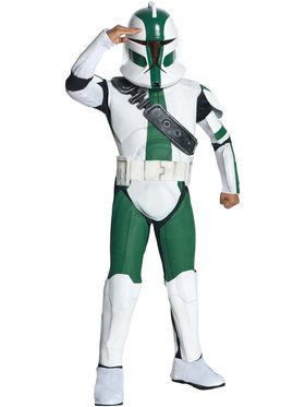Star Wars Clone Wars Commander Gree Child Costume