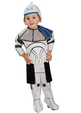 Star Wars Clone Wars Toddler E-Z On Romper Rex Costume