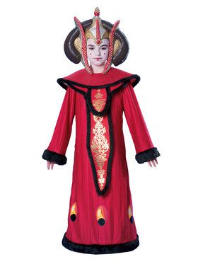 Deluxe Star Wars Queen Amidala Children's Costume