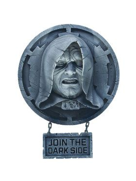 Pale Faced Emperor Palpatine Wall Dcor