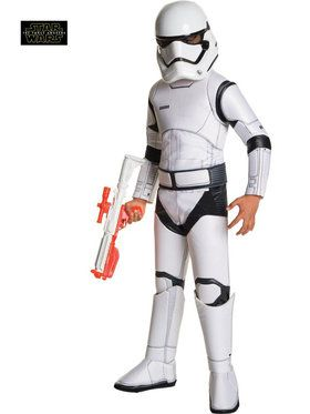 Kid's Star Wars Episode VII Deluxe Stormtrooper Costume