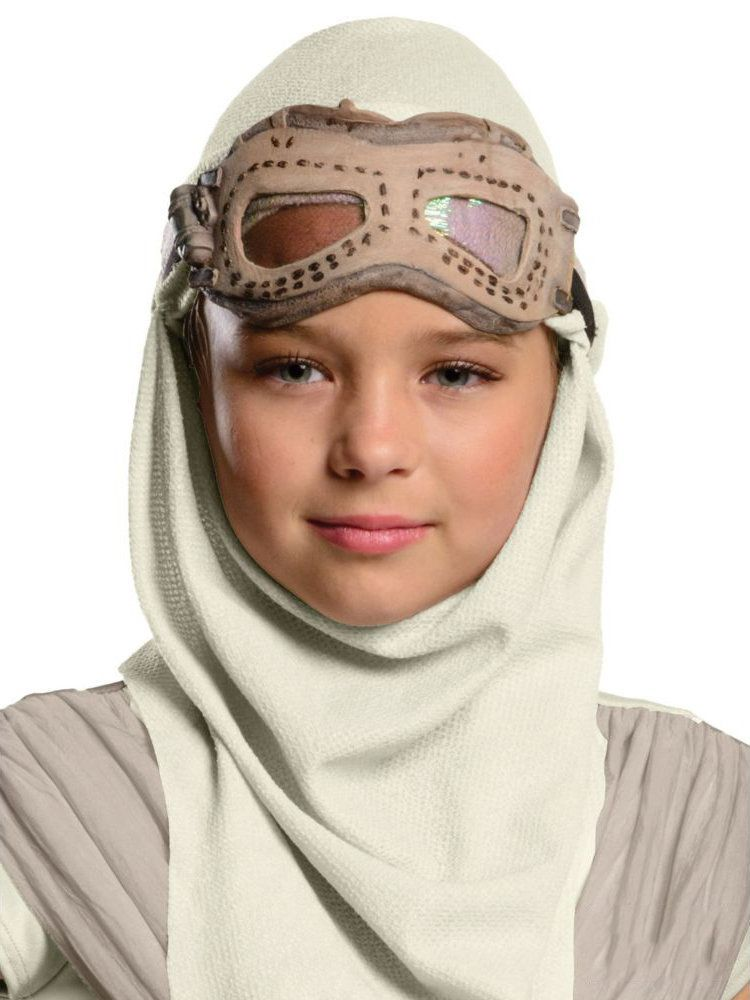 55bd7499a88 Star Wars: The Force Awakens - Rey Girls Eye Mask With Hood - Kids ...