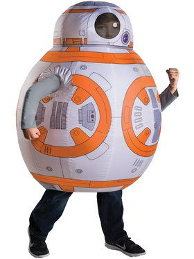 Star Wars Episode VII The Force Awakens Inflatable BB-8 Costume for Kids