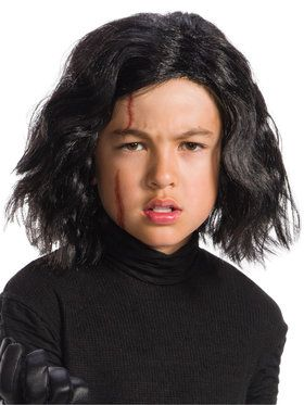 Star Wars Episode VIII The Last Jedi Kylo Ren Wig and Scar Set for Kids