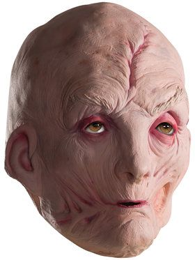 Star Wars Episode VIII The Last Jedi Supreme Leader Snoke 3/4 2018 Halloween Masks for Kids