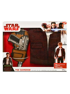 Star Wars Episode VIII - The Last Jedi Poe Dameron Dress Up Set
