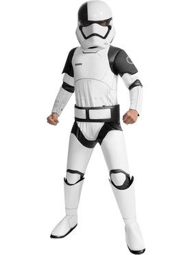 Children's Deluxe Star Wars Episode VIII - The Last Jedi Executioner Trooper Costume