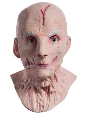 Overhead Latex Snoke 2018 Halloween Masks from Star Wars Episode VIII - The Last Jedi