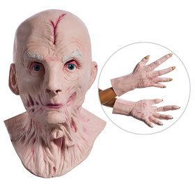 Star Wars Episode VIII: The Last Jedi - Supreme Leader Snoke Overhead 2018 Halloween Masks And Hands