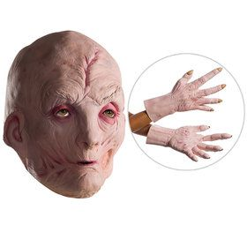 Star Wars Episode VIII: The Last Jedi - Supreme Leader Snoke Vinyl 2018 Halloween Masks and Latex Hands