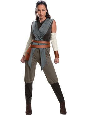 Star Wars Episode VIII - The Last Jedi Women's Rey Costume