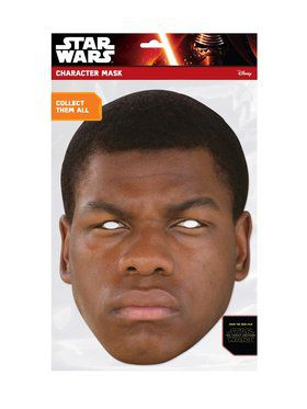 Finn Star Wars Face 2018 Halloween Masks