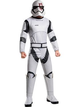 Star Wars Force Awakens Deluxe Adult Finn Costume