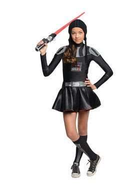 Star Wars Girls Darth Vader- Girl Tween Costume