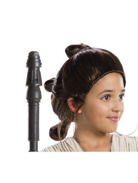Star Wars Classic Edition: Child Rey Wig