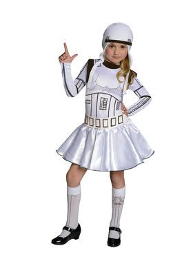 Star Wars Girls Storm Trooper- Girl Costume