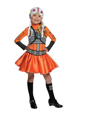 Star Wars Girls X- Wing Fighter Costume