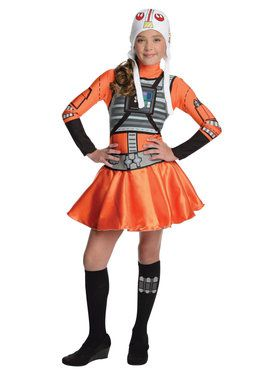 Star Wars Tween X - Wing Fighter Costume