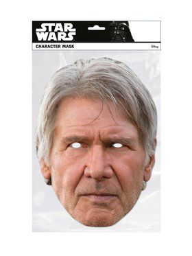 Han Solo Star Wars Face 2018 Halloween Masks