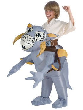 Star Wars Classic Inflatable Tauntaun Costume For Kids