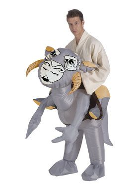 Mens Inflatable Star Wars Tauntaun Rider Costume