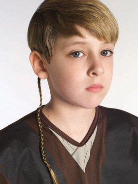 Star Wars Jedi Braid Costume Accessory