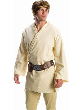 Star Wars Luke Skywalker Costume Wig for Adults