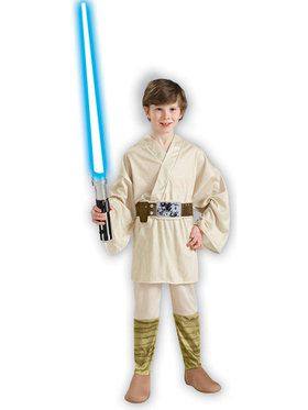 Luke Skywalker (Star Wars) Costume for Kids