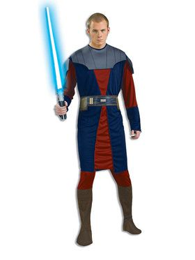 Adult Star Wars Clone Wars Anakin Skywalker Costume