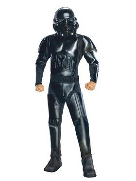 Star Wars Mens Black Shadow Trooper Costume